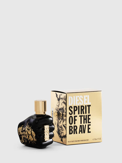 Diesel - SPIRIT OF THE BRAVE 50ML, Black/Gold - Only The Brave - Image 1