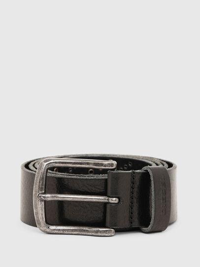 Diesel - B-STUDEND, Black - Belts - Image 1