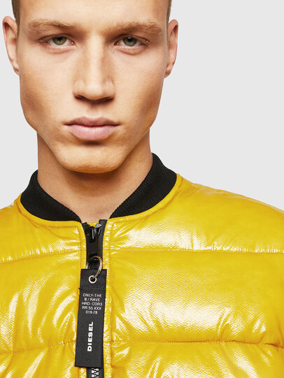 Diesel - W-ON, Yellow - Winter Jackets - Image 3