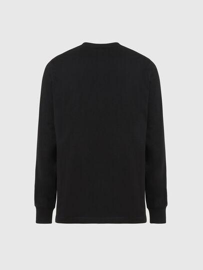 Diesel - T-JUST-LS-X93, Black - T-Shirts - Image 2
