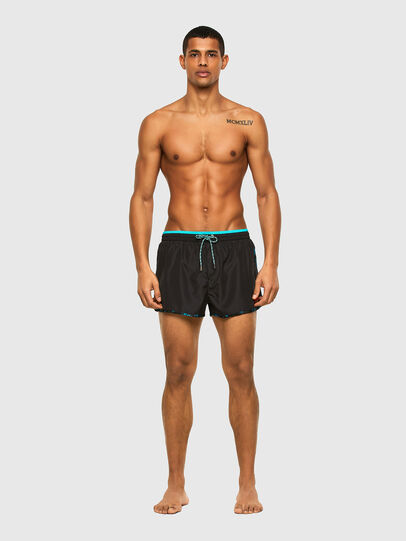 Diesel - BMBX-REEF-30, Black - Swim shorts - Image 1