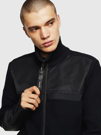 Diesel - K-MANY, Black - Sweaters - Image 3