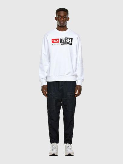 Diesel - S-GIRK-CUTY, White - Sweatshirts - Image 4