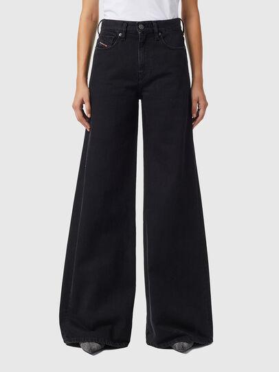 Diesel - D-Akemi Bootcut Jeans Z09RL, Black/Dark Grey - Jeans - Image 1