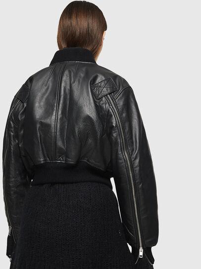 Diesel - L-MANUA,  - Leather jackets - Image 2