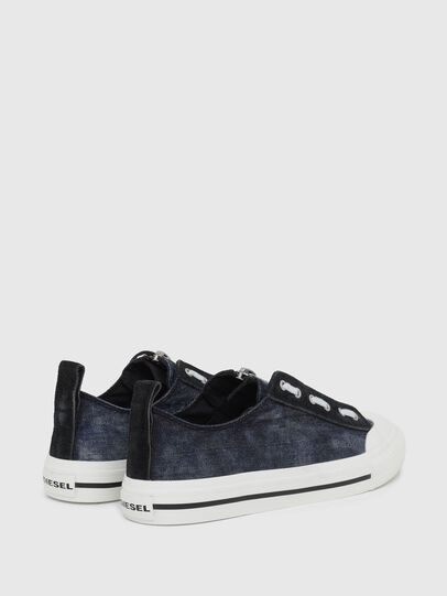 Diesel - S-ASTICO LZIP, Azul Oscuro - Sneakers - Image 3