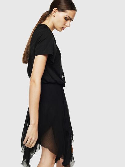 Diesel - D-CERYL-B, Black - Dresses - Image 4