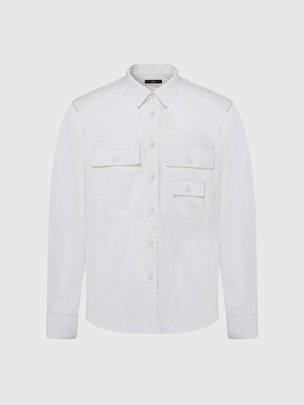S-ALLEN-KA, White - Shirts