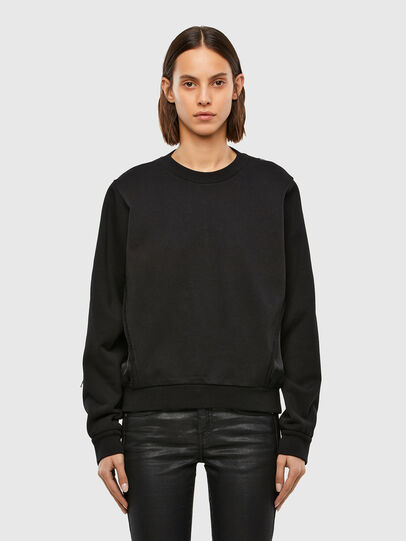 Diesel - F-ROSETTA, Black - Sweatshirts - Image 1