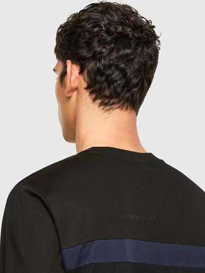 Diesel - T-LOUD, Black - T-Shirts - Image 3