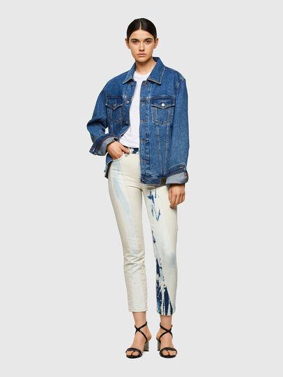 Diesel - D-Joy Slim Jeans 009UX, Medium Blue - Jeans - Image 5