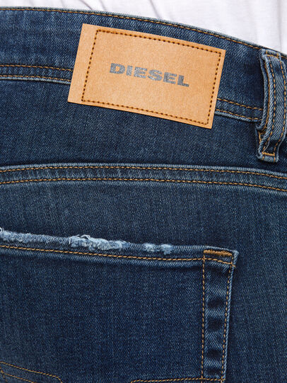 Diesel - Sleenker Skinny Jeans 009DK, Dark Blue - Jeans - Image 4