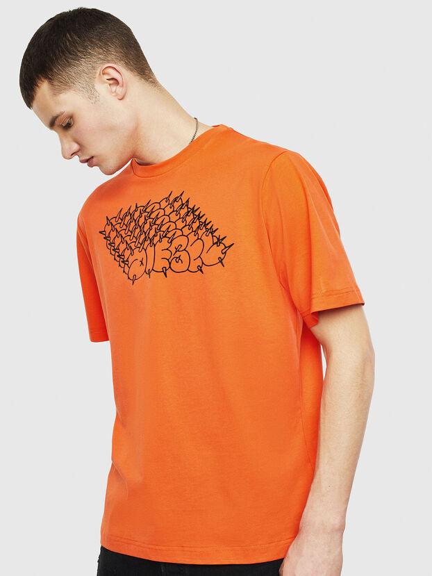 T-JUST-T20, Orange - T-Shirts