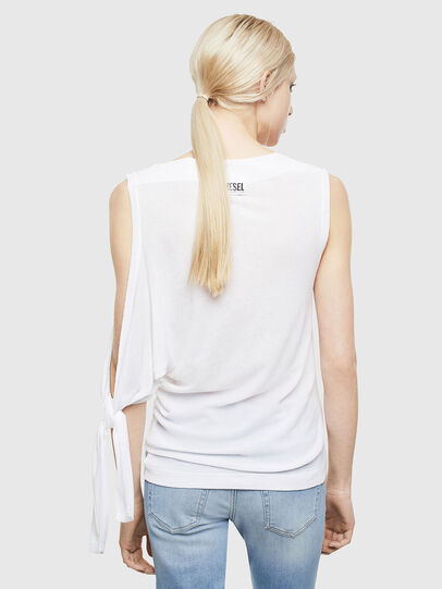 Diesel - T-TATY, White - T-Shirts - Image 2