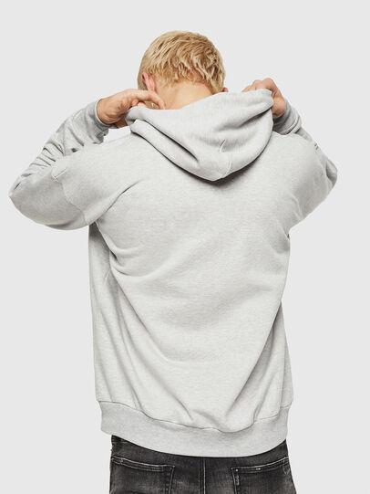 Diesel - S-DIVISION-D, Grey - Sweatshirts - Image 2