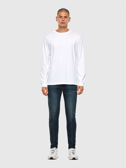 Diesel - T-JUST-LS-X91, White - T-Shirts - Image 6