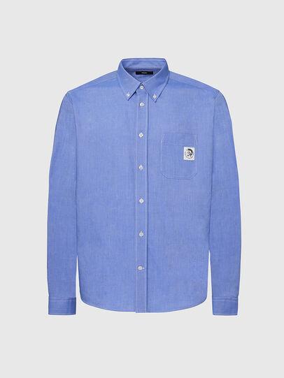 Diesel - S-JAMES, Blue - Shirts - Image 1