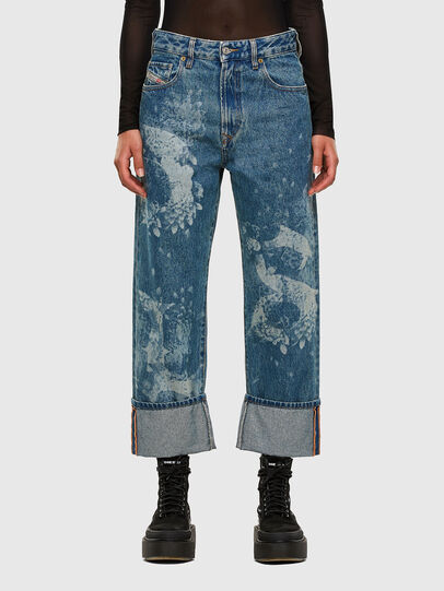 Diesel - D-Reggy 0079H, Medium Blue - Jeans - Image 1
