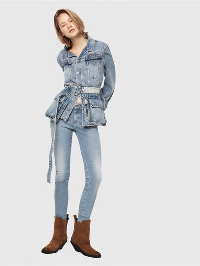 Diesel - Slandy 085AC, Light Blue - Jeans - Image 4