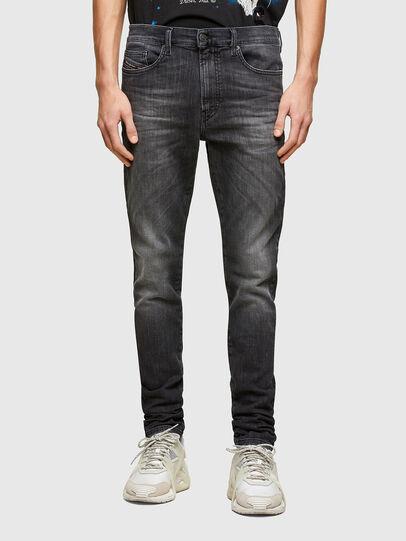 Diesel - D-Reeft Skinny JoggJeans® 009SU, Black/Dark Grey - Jeans - Image 1