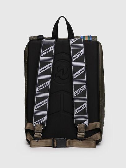Diesel - M-INVICOLAB BACK II, Dark Green - Backpacks - Image 2