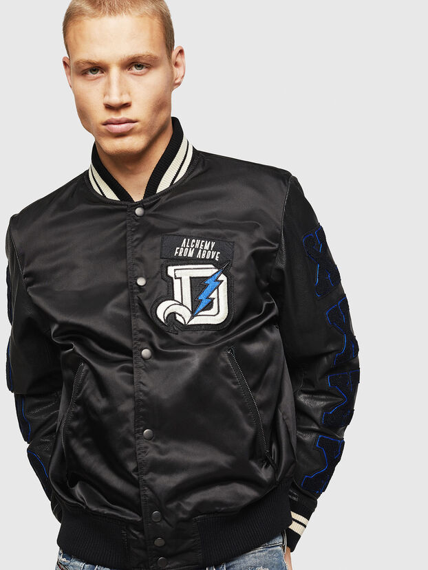 L-KHARKOV, Black - Leather jackets