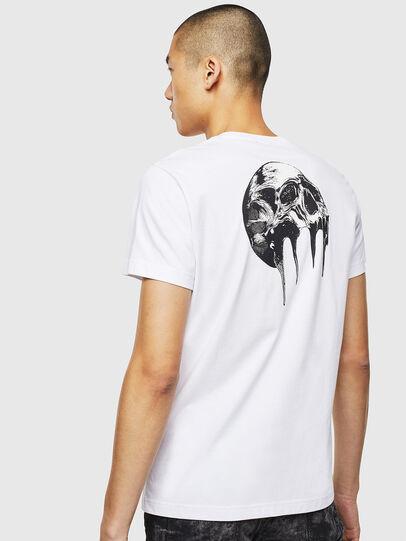 Diesel - T-DIEGO-J10, White - T-Shirts - Image 4