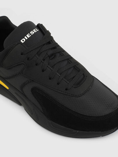 Diesel - S-SERENDIPITY LOW CU, Black/Yellow - Sneakers - Image 4