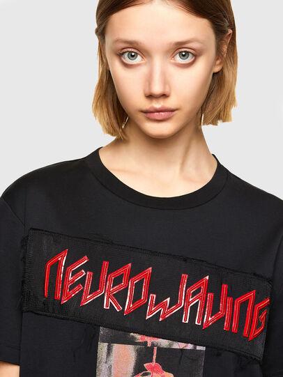 Diesel - T-AIRO, Black - T-Shirts - Image 3