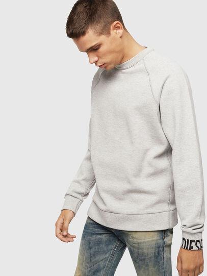 Diesel - S-KOBLER, Grey - Sweatshirts - Image 1