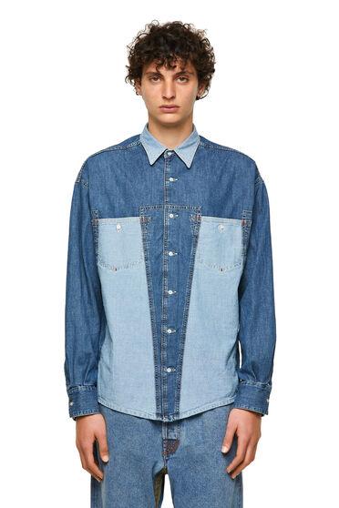 DieselXDiesel denim shirt