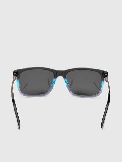 Diesel - DL0309, Black/Blue - Sunglasses - Image 4