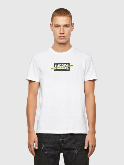 Diesel - T-DIEGOS-A3, White - T-Shirts - Image 1