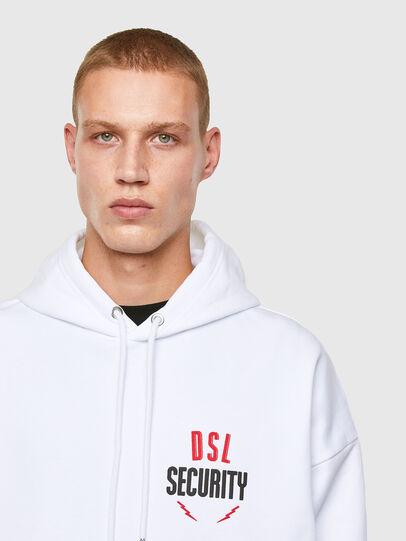 Diesel - S-UMMER-N72, White - Sweatshirts - Image 3