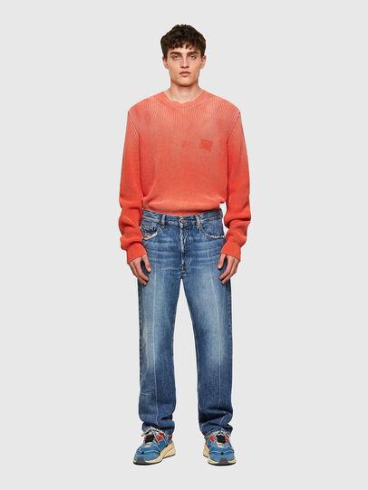 Diesel - D-Macs Straight Jeans 09A25, Medium Blue - Jeans - Image 5