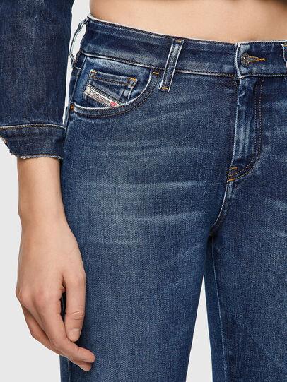 Diesel - Slandy Skinny Jeans 009ZX, Dark Blue - Jeans - Image 3