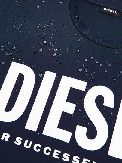 Diesel - T-DIEGO-LOGO, Dark Blue - T-Shirts - Image 4