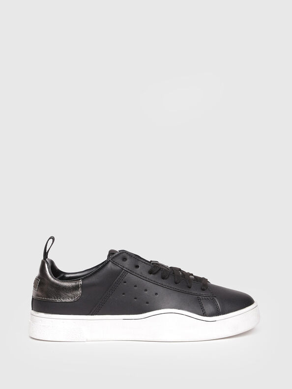S-CLEVER LOW W, Bright Black - Sneakers