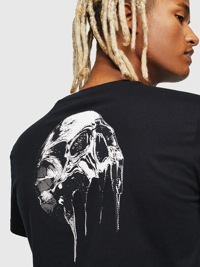 Diesel - T-DIEGO-J10, Black - T-Shirts - Image 4
