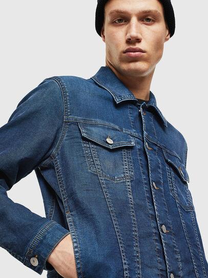 Diesel - NHILL JOGGJEANS, Blue Jeans - Denim Jackets - Image 5