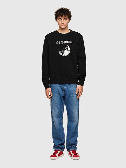 Diesel - S-GIRK-B4, Black - Sweatshirts - Image 4