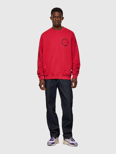 Diesel - S-MART-B3, Red - Sweatshirts - Image 5