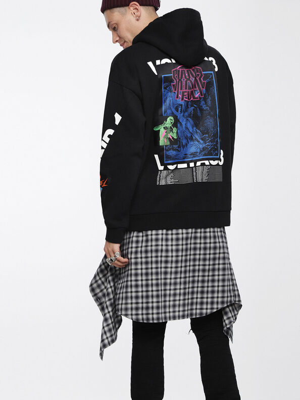 S-JACK-XA, Black - Sweatshirts