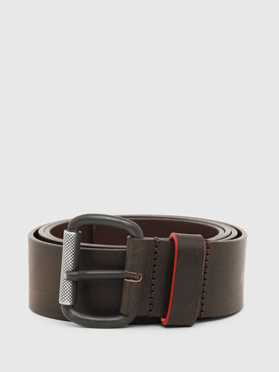 Diesel - B-DIVISION, Dark Brown - Belts - Image 1