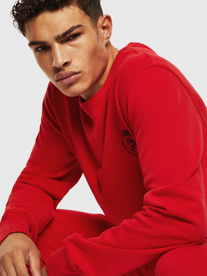 Diesel - UMLT-WILLY, Red - Sweatshirts - Image 4