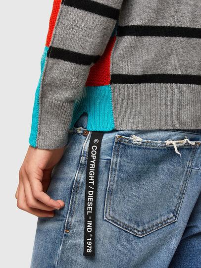 Diesel - K-JASPER, Blue/Red - Sweaters - Image 4
