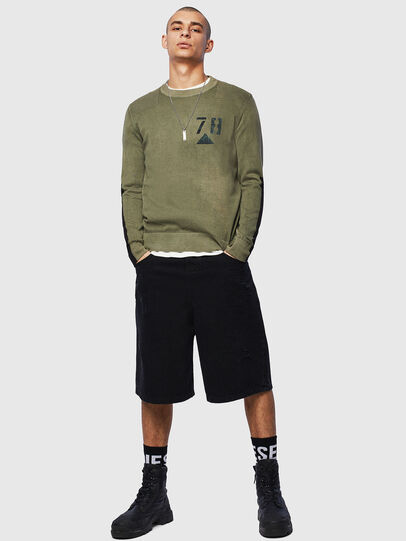 Diesel - K-PACHY, Military Green - Sweaters - Image 5