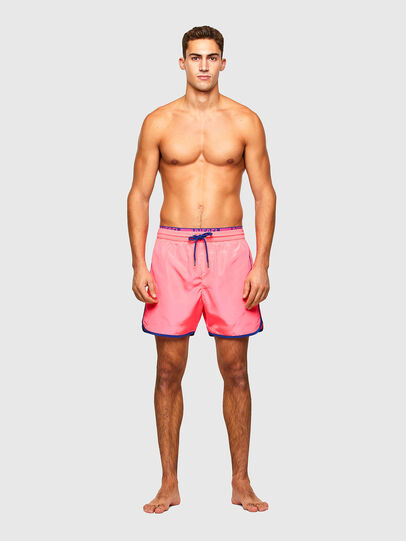 Diesel - BMBX-DOLPHIN-R, Pink - Swim shorts - Image 1