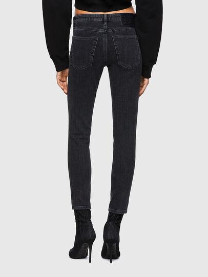 Diesel - Babhila Slim Jeans 09A67, Black/Dark Grey - Jeans - Image 2