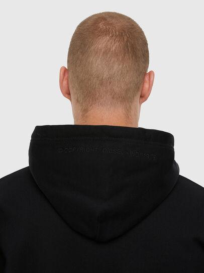 Diesel - S-UMMER-N70, Black - Sweatshirts - Image 4